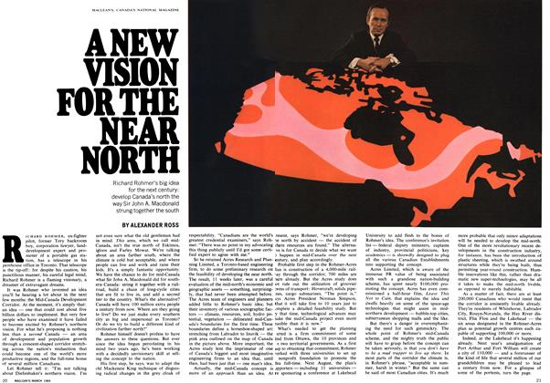 Article Preview: A NEW VISION FOR THE NEAR NORTH, March 1969 | Maclean's