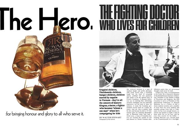 Article Preview: THE FIGHTING DOCTOR WHO LIVES FOR CHILDREN, March 1969 | Maclean's