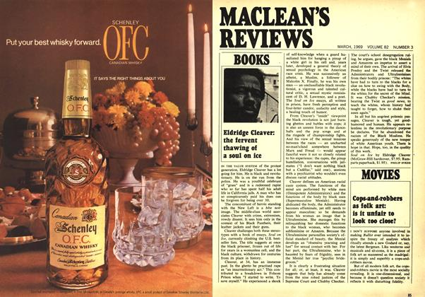 Article Preview: Eldridge Cleaver: the fervent thawing of a soul on ice, March 1969 | Maclean's