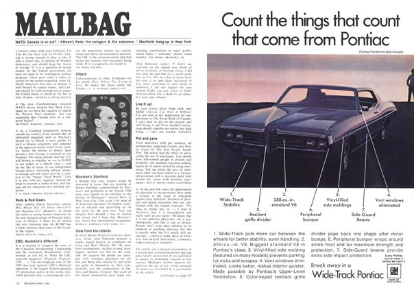Article Preview: MAILBAG, April 1969 | Maclean's
