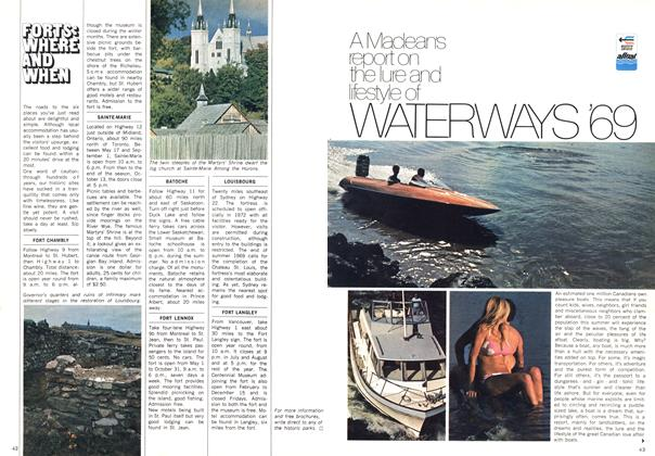 Article Preview: A Maclean's report on the lure and lifestyle of WATERWAYS '69, April 1969 | Maclean's