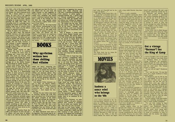 Article Preview: Why spy-fiction writers love those chilling Nazi villains, April 1969 | Maclean's