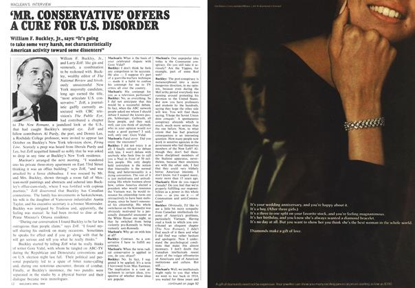 Article Preview: 'MR. CONSERVATIVE' OFFERS A CURE FOR U.S. DISORDER, April 1969 | Maclean's