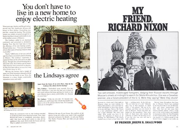 Article Preview: MY FRIEND, RICHARD NIXON, May 1969 | Maclean's