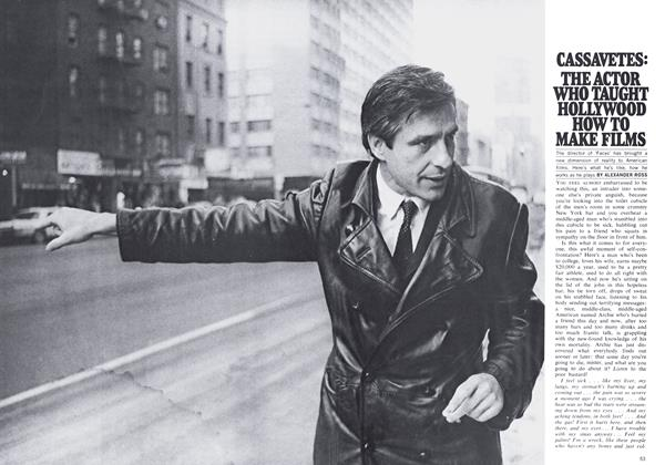 Article Preview: THE ACTOR WHO TAUGHT HOLLYWOOD HOW TO MAKE FILMS, May 1969 | Maclean's