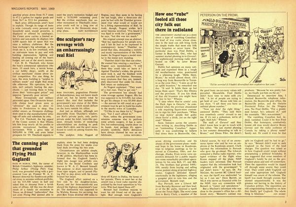 "Article Preview: How one ""robe"" fooled all those city folk out there in radioland, May 1969 