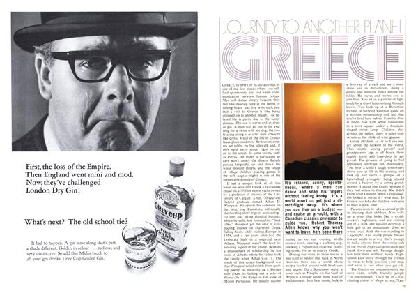Article Preview: JOURNEY TO ANOTHER PLANET GREECE, May 1969 | Maclean's