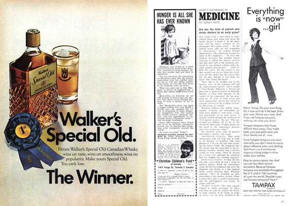 Article Preview: WHAT'S HAPPENING IN MEDICINE, May 1969 | Maclean's