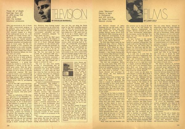 Article Preview: TELEVISION, May 1969 | Maclean's