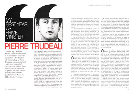 MY FIRST YEAR AS PRIME MINISTER - June | Maclean's