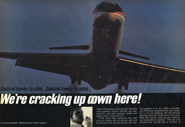 Article Preview: We're cracking up down here!, June 1969 | Maclean's
