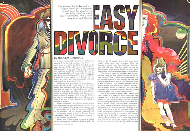 Article Preview: EASY DIVORCE, June 1969 | Maclean's