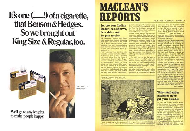 Article Preview: Those mail-order pitchmen have got your number, July 1969 | Maclean's