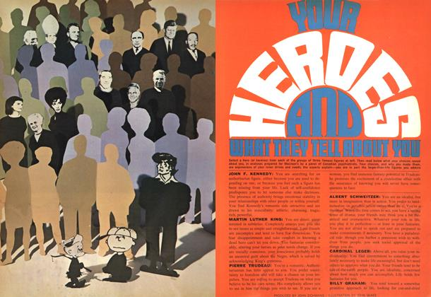 Article Preview: YOUR HEROES AND WHAT THEY TELL ABOUT YOU, July 1969 | Maclean's
