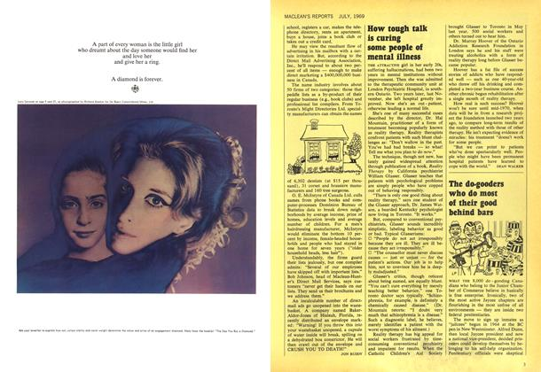 Article Preview: The do-gooders who do most of their good behind bars, July 1969   Maclean's