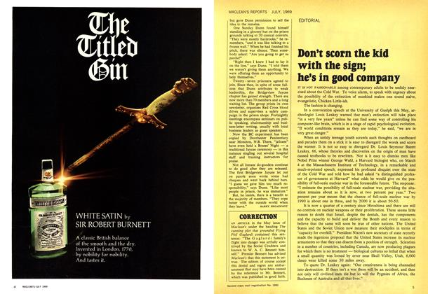 Article Preview: CORRECTION, July 1969   Maclean's