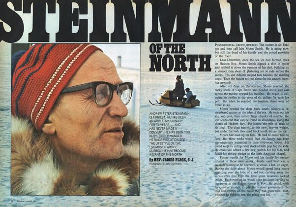 Article Preview: STEIN MANN OF THE NORTH, August 1969 | Maclean's
