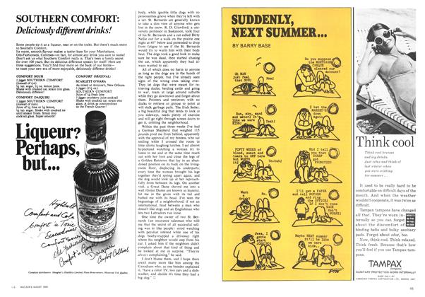 Article Preview: SUDDENLY, NEXT SUMMER..., August 1969 | Maclean's