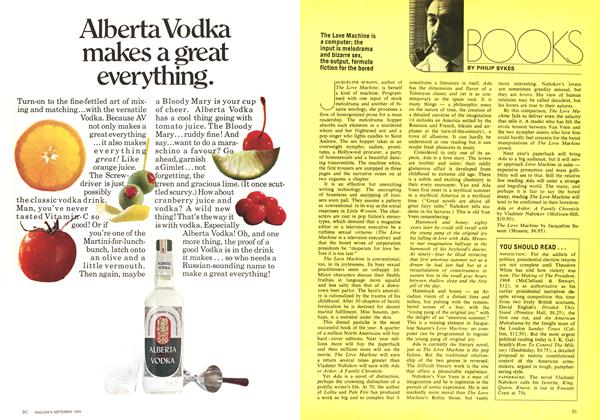 Article Preview: BOOKS, September 1969 | Maclean's