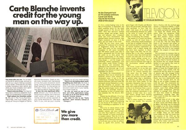 Article Preview: TELEVISION, September 1969 | Maclean's