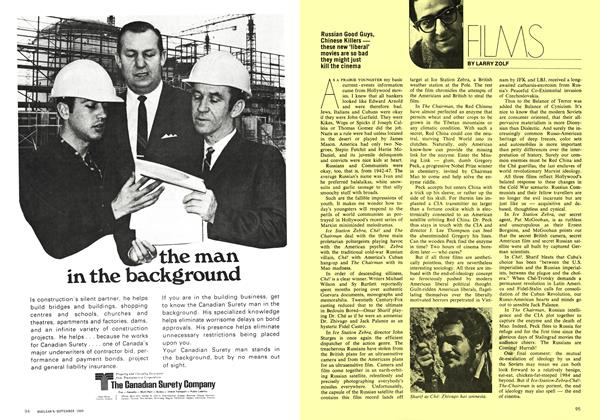 Article Preview: FILMS, September 1969 | Maclean's