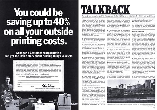Article Preview: TALKBACK, September 1969 | Maclean's