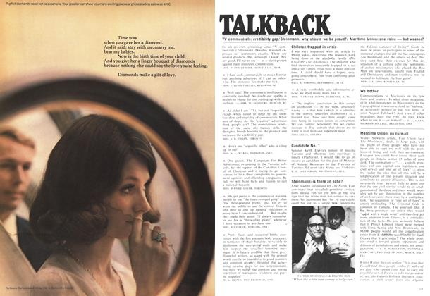 Article Preview: TALKBACK, October 1969 | Maclean's