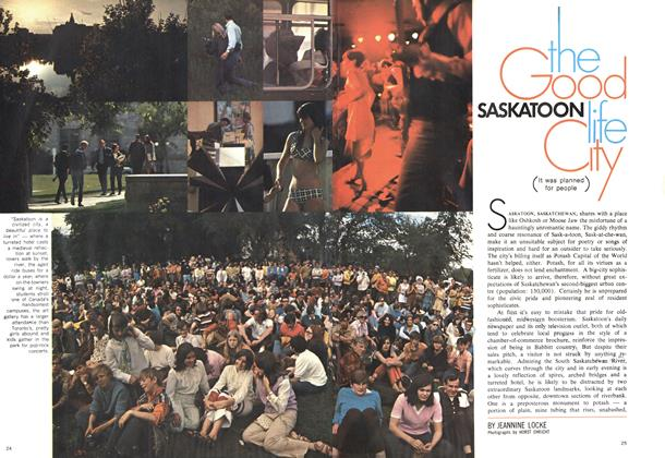 Article Preview: SASKATOON the Good life City, October 1969 | Maclean's