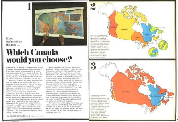 Article Preview: Which Canada would you choose?, October 1969 | Maclean's