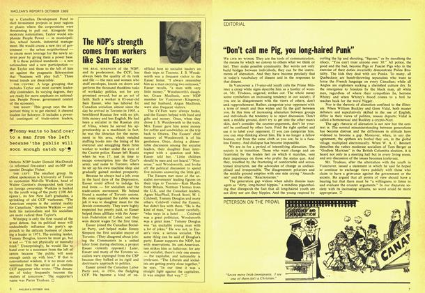 "Article Preview: ""Don't call me Pig, you long-haired Punk"", October 1969 