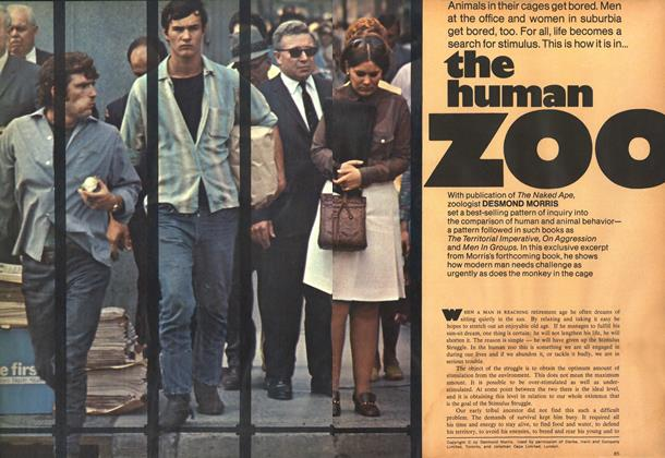 Article Preview: the human zoo, October 1969 | Maclean's