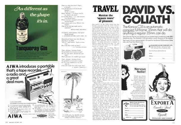 Article Preview: TRAVEL, October 1969 | Maclean's