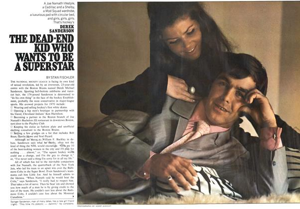 Article Preview: DEREK SANDERSON THE DEAD-END KID WHO WANTS TO BE A SUPERSTAR, November 1969 | Maclean's