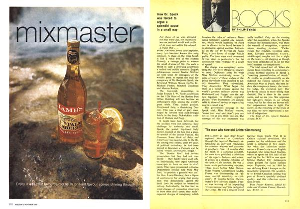 Article Preview: BOOKS, November 1969   Maclean's