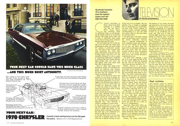 Article Preview: TELEVISION, November 1969 | Maclean's