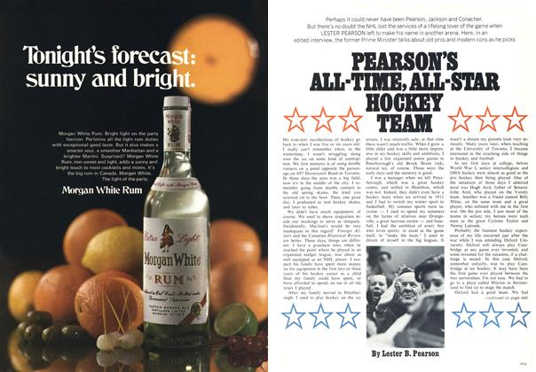 Article Preview: PEARSON'S ALL-TIME, ALL-STAB HOCHET TEAM, December 1969 | Maclean's