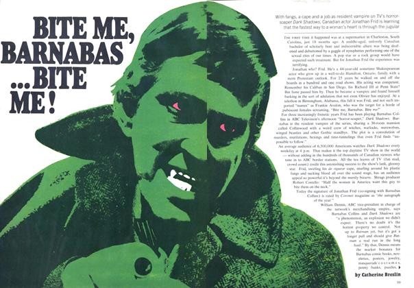 Article Preview: BITE ME, BARNABAS ...BITE ME!, December 1969 | Maclean's