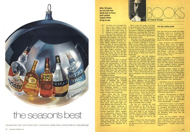 Article Preview: BOOKS, December 1969 | Maclean's