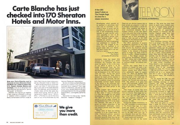 Article Preview: TELEVISION, December 1969   Maclean's