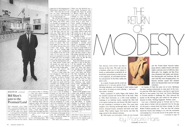 Article Preview: THE RETURN OF MODESTY, January 1970 | Maclean's