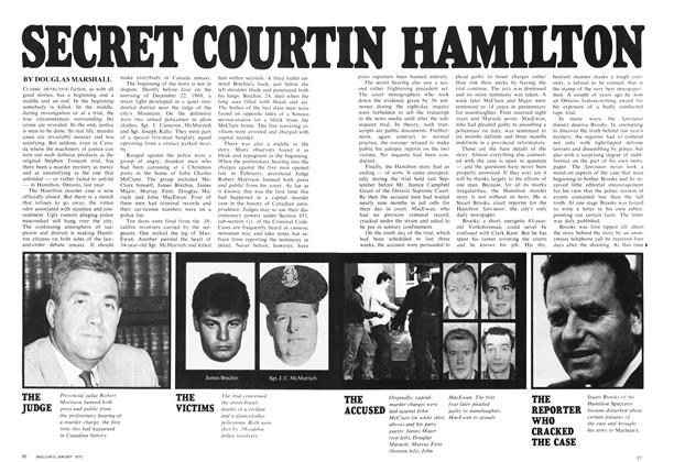 Article Preview: SECRET COURT IN HAMILTON, January 1970 | Maclean's