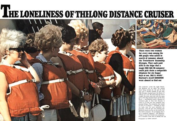 Article Preview: THE LONELINESS OF THE LONG DISTANCE CRUISER, January 1970 | Maclean's