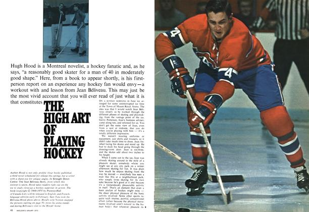 Article Preview: THE HIGH ART OF PLAYING HOCKEY, January 1970 | Maclean's