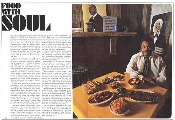 Article Preview: FOOD WITH SOUL, January 1970 | Maclean's