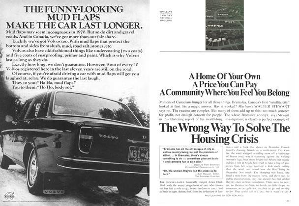 Article Preview: The Wrong Way To Solve The Housing Crisis, February 1970 | Maclean's