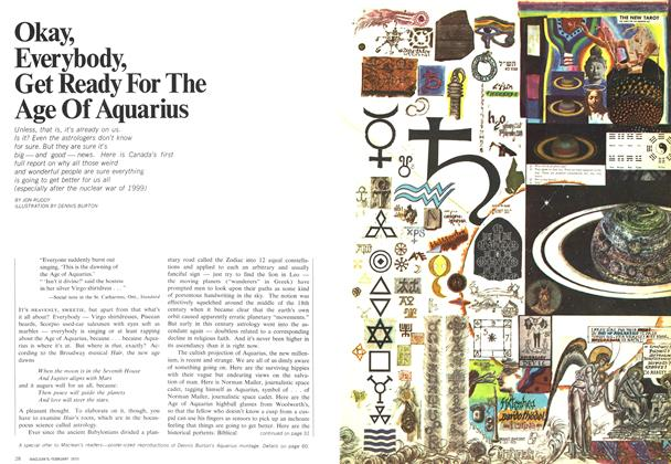 Article Preview: Okay, Everybody, Get Ready For The Age Of Aquarius, February 1970 | Maclean's