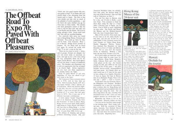 Article Preview: The Offbeat Road To Expo 70: Paved With Offbeat Pleasures, February 1970 | Maclean's