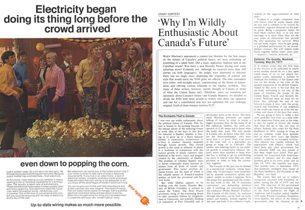 Article Preview: 'Why I'm Wildly Enthusiastic About Canada's Future', February 1970 | Maclean's