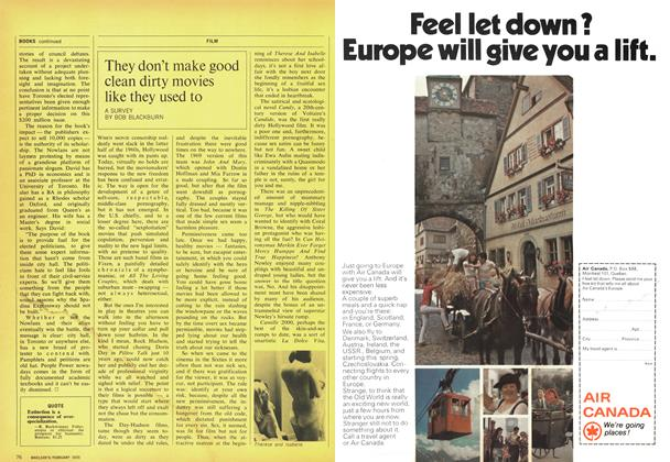 Article Preview: They don't make good clean dirty movies like they used to, February 1970 | Maclean's