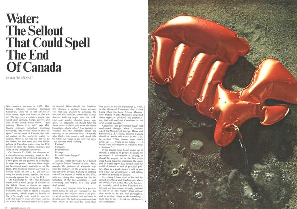 Article Preview: Water: The Sellout That Could Spell The End Of Canada, March 1970 | Maclean's